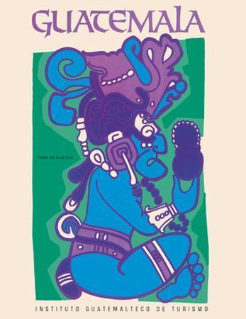 Guatemala - Itzamna, Dios de Los Cielos (God of the Heavens) - Mayan God