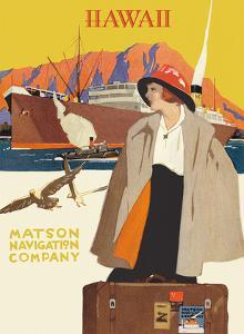 Hawaii - Matson Navigation Company by Pacifica Island Art