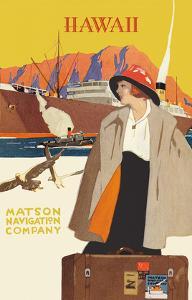 Hawaii - Matson Navigation Company by Pacifica Island Art