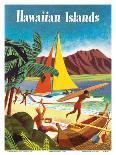 Bolivia - Braniff International Airways-Pacifica Island Art-Art Print