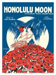 Honolulu Moon - Words and Music by Fred Lawrence by Pacifica Island Art
