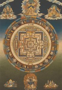 Mandala of Kalachakra (Cycle of Time) by Pacifica Island Art