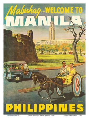 Manila Philippines - Mabuhay (Welcome)