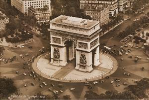 Paris, France - Arc de Triomphe de l'�oile by Pacifica Island Art