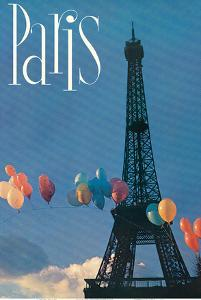 Paris, France - Balloon Arch Across the Eiffel Tower by Pacifica Island Art
