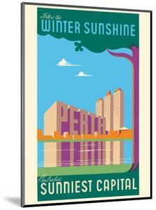 Perth, Australia - Follow the Winter Sunshine - Australia's Sunniest Capital by Pacifica Island Art