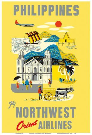 Philippines - Fly Northwest Orient Airlines