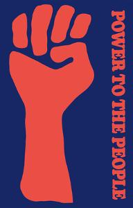 Power To The People - Black Panther Party by Pacifica Island Art