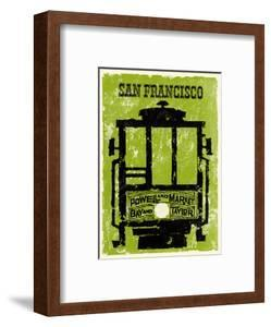San Francisco - Powell & Market, Bay & Taylor Streets Cable Car Line by Pacifica Island Art
