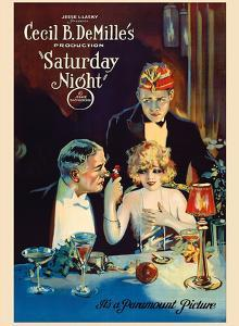 Saturday Night - Cecil B. DeMille Production by Pacifica Island Art