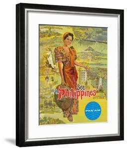 See the Philippines - Pan American World Airways by Pacifica Island Art