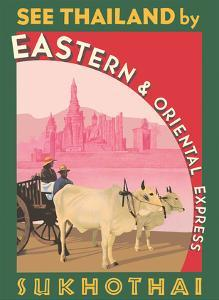 Sukhothai - See Thailand by Eastern & Oriental Express by Pacifica Island Art
