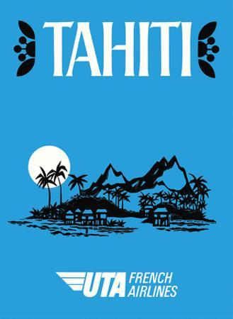 Tahiti - UTA (Union des Transports Aériens) - French Airlines