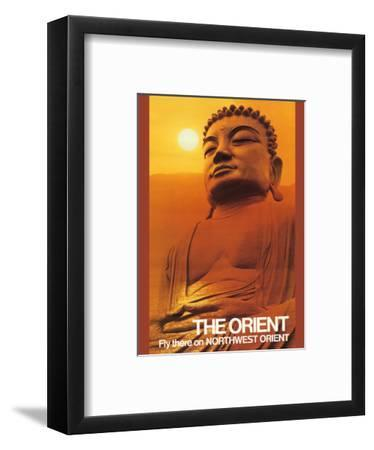 The Orient - Fly there on Northwest Orient Airlines - Great Buddha of Kamakura