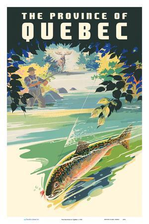 The Province of Québec - Trout Fishing