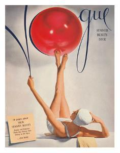 Vogue - Summer Beauty Issue by Pacifica Island Art