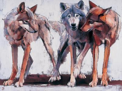 Pack Leaders, 2001-Mark Adlington-Giclee Print
