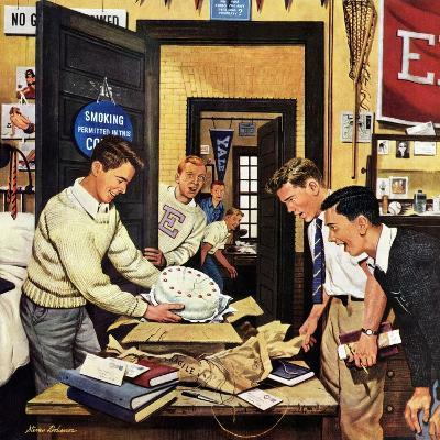 """""""Package from Home"""", February 3, 1951-Stevan Dohanos-Giclee Print"""