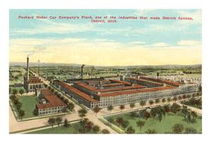 Packard Plant, Detroit, Michigan