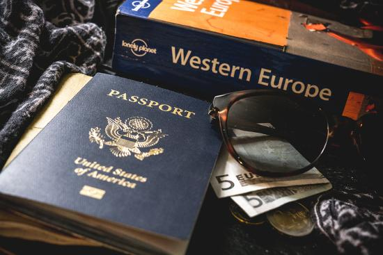 Packing For Europe-Lindsay Daniels-Photographic Print