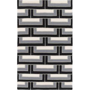 Paddington Area Rug - Charcoal/Light Gray 5' x 8'