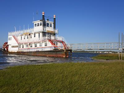 Paddle Steamer on Lakes Bay, Atlantic City, New Jersey, United States of America, North America-Richard Cummins-Photographic Print