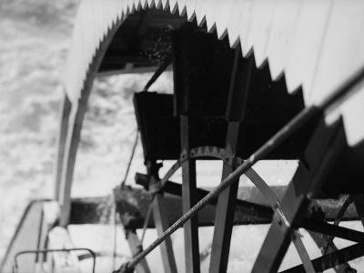 Paddle Wheel of S.S. Athabasca River-Margaret Bourke-White-Photographic Print