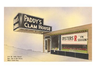 Paddy's Clam House, New York City--Art Print