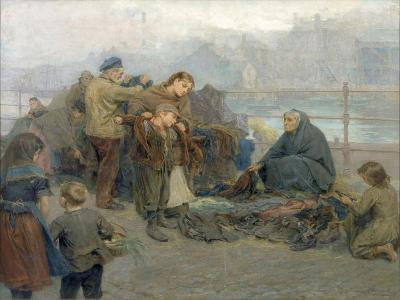 Paddy's Clothes Market, Sandgate, 1898-Ralph Hedley-Giclee Print