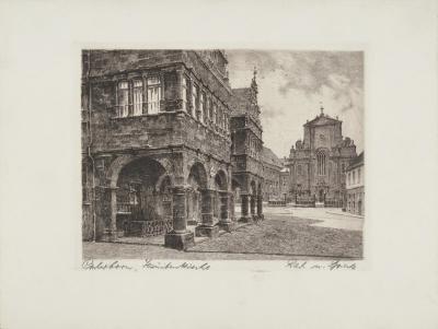 Paderborn - Jesuitenkirche-Bruck-Collectable Print