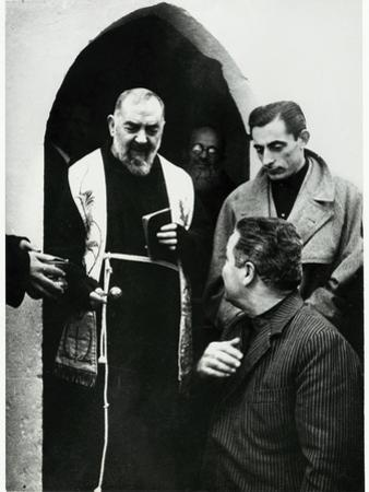 Padre Pio of Pietrelcina with Fausto Coppi