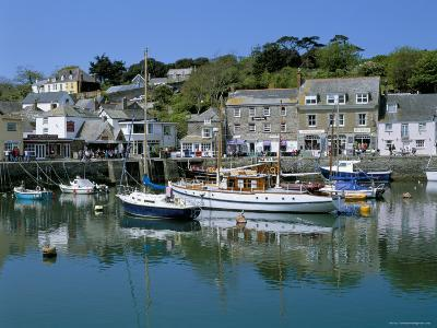 Padstow Harbour, Padstow, Cornwall, England, United Kingdom-Lee Frost-Photographic Print