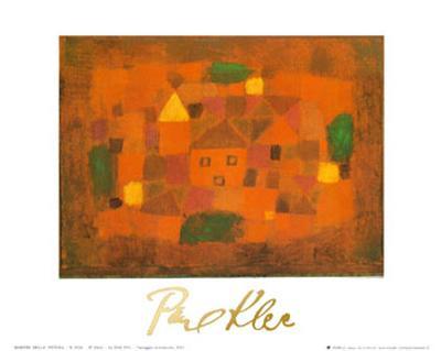 Paesaggio al Tramonto, c.1923-Paul Klee-Art Print