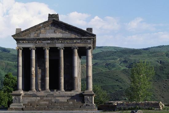 Pagan Temple Dedicated to Mithras, Garni, Armenia--Giclee Print