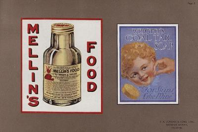 Page from Jordan's Enamelled Signs--Giclee Print