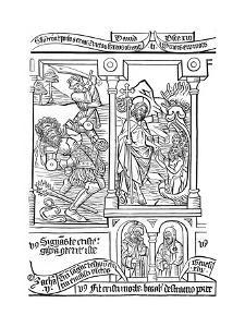 Page from the Biblia Pauperum, 15th Century