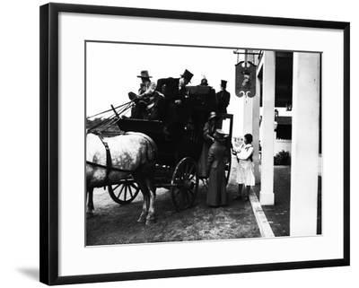 Pageant Participants--Framed Photographic Print