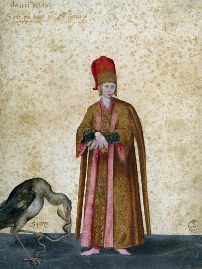 Pageboy of Great Sultan-Jacopo Ligozzi-Giclee Print