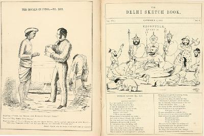 Pages from the Delhi Sketchbook, 1850-54--Giclee Print