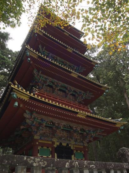Pagoda at Toshogu Shrine, Nikko, Tochigi Prefecture, Japan-Christian Kober-Photographic Print