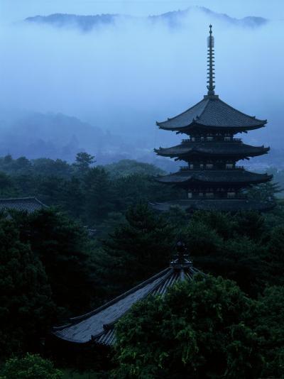 Pagoda of Koufukuji Temple--Photographic Print