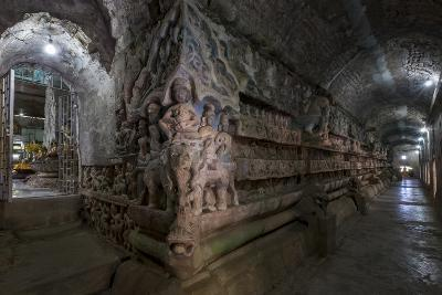 Pagoda of Shittaung, Dated 1535, Mrauk U, Rakhaing State, Myanmar (Burma), Asia-Nathalie Cuvelier-Photographic Print