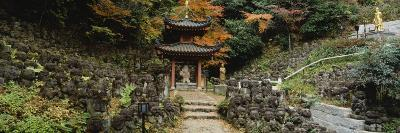 Pagoda, Otagi Nenbutsu-Ji Temple, Kyoto, Japan--Photographic Print