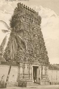 Pagoda, Pondicherry, India