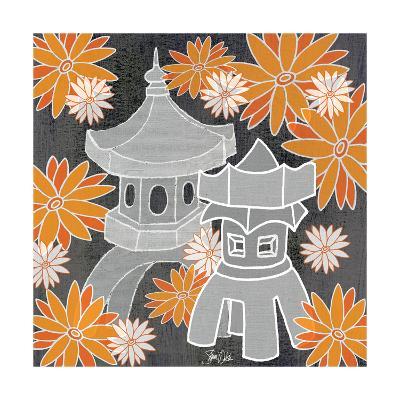 Pagoda Print One-Shanni Welsh-Art Print