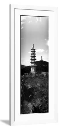 Pagodas Like This Dot the Countryside Within the Grounds of the Imperial Summer Palace--Framed Photographic Print