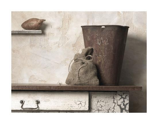 Pail with Yam-Gaetano Art Group-Art Print