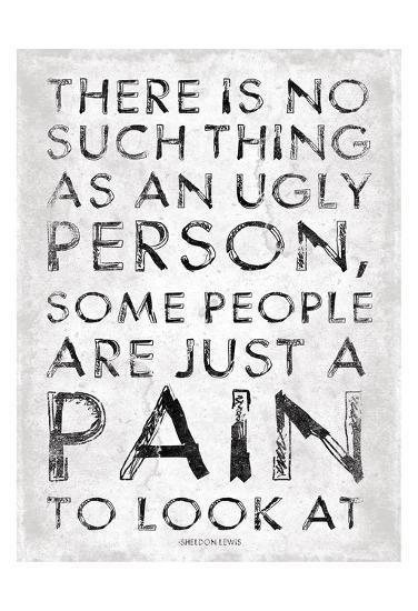 Pain-Jace Grey-Art Print