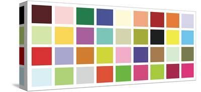 Paint Box Graphic II-Dan Bleier-Stretched Canvas Print