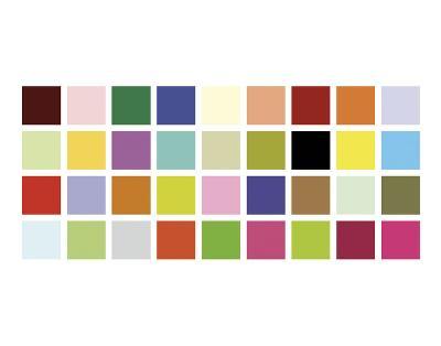 Paint Box Graphic II-Dan Bleier-Art Print